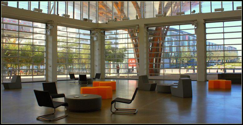 Centre Pompidou 1/ Hall d'entrée
