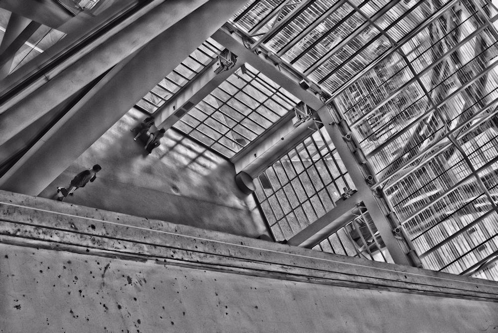 Centre Pompidou Metz - Vues d'en haut (10)