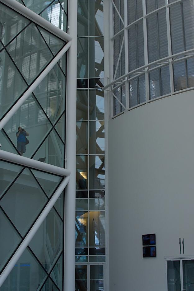 Centre Pompidou Metz - Vues d'en haut (9)