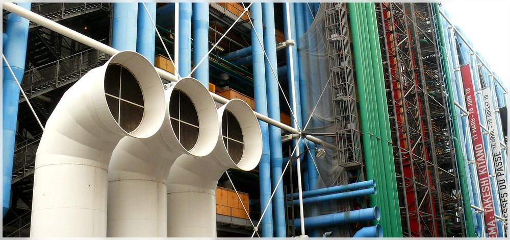 ~ Centre Pompidou Paris ~