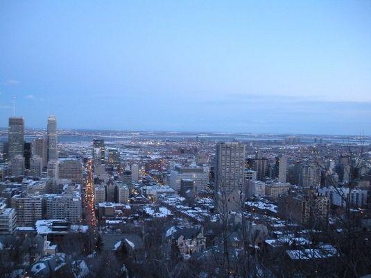 Centre ville de Montréal