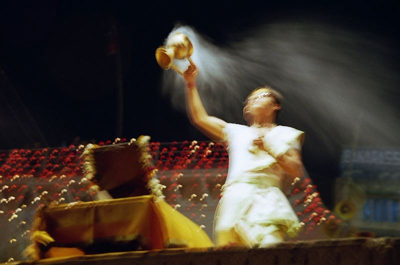 Cérémonie pour le Gange