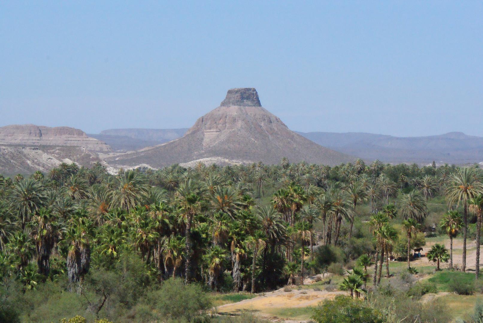 """Cerro """"El Pilón"""", San Isidro, Baja California Sur, México."""
