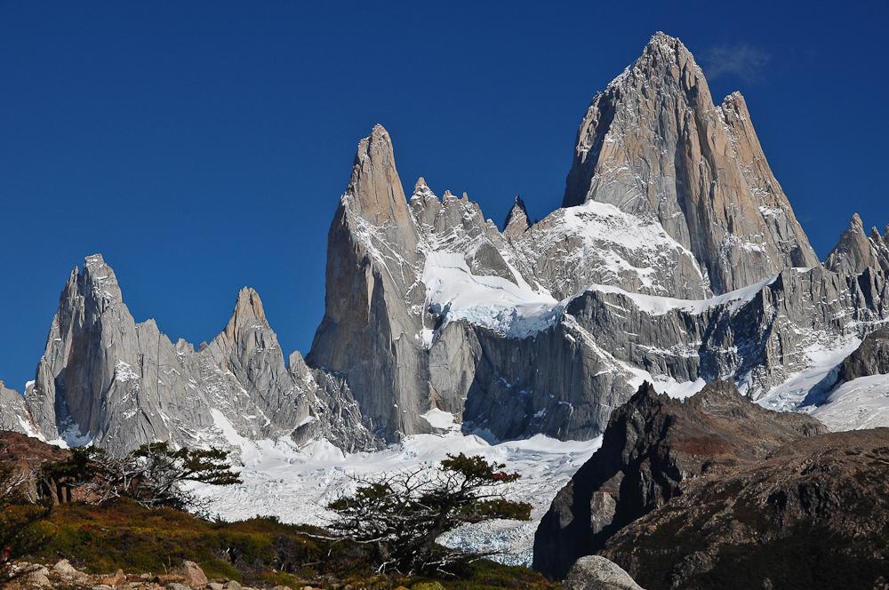 Cerro Fitz Roy, Argentinien März 2012