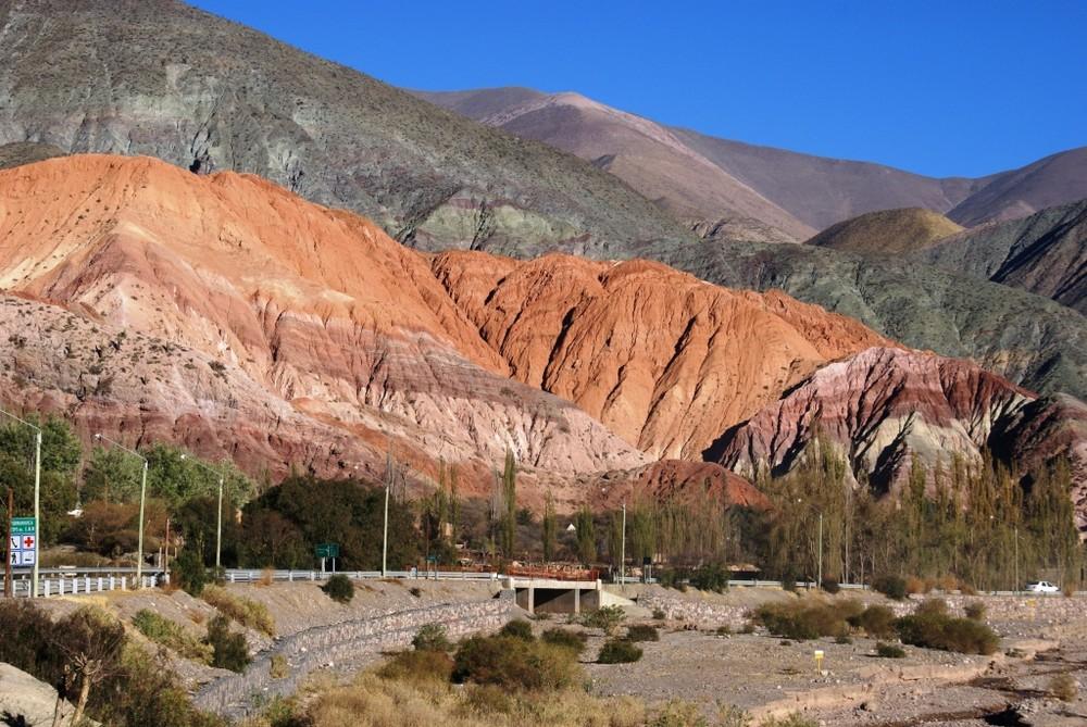 Cerro Siete Colores en Purmamarca-Jujuy-Argentina