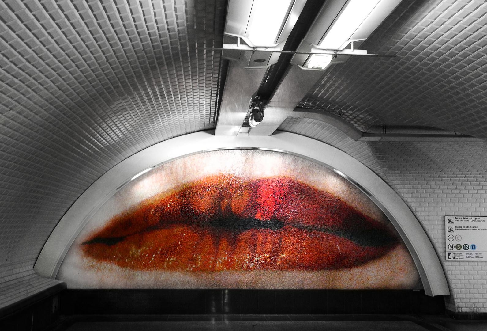 """Certe, dans le métro il faut qu'on """"bouche"""""""
