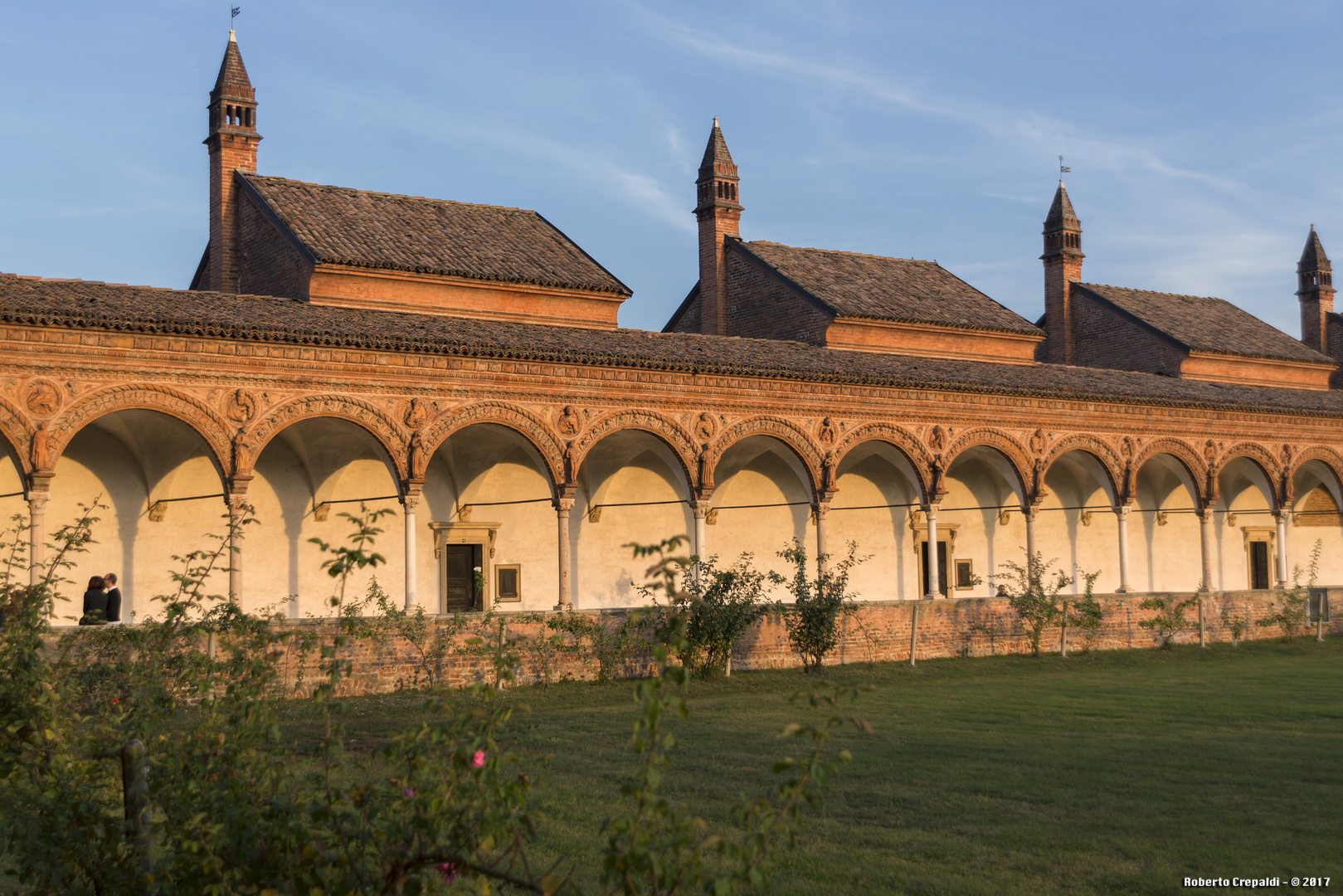 Certosa di Pavia, chiostro