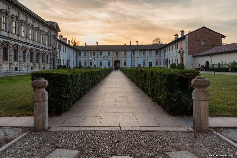 Certosa di Pavia, giardino
