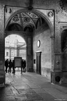 Certosa di Pavia, ingresso