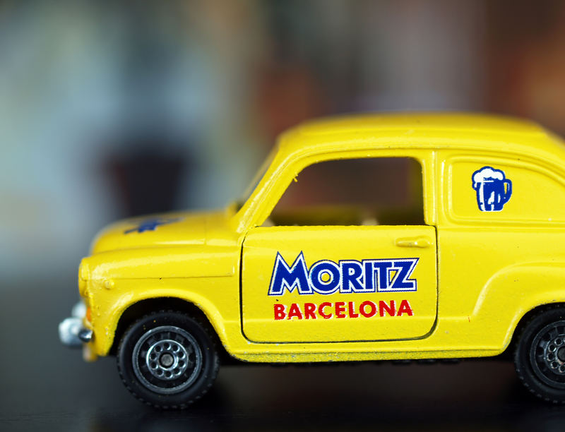 Cerveza Moritz de Barcelona