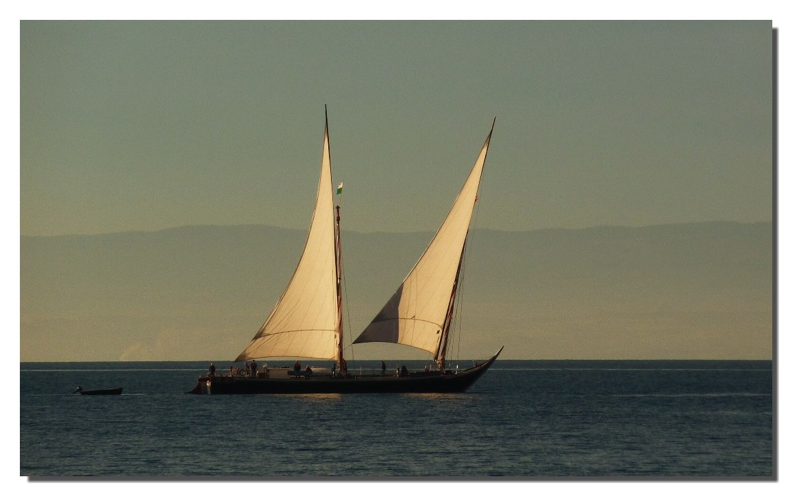 ces  merveilleuses barques du Léman