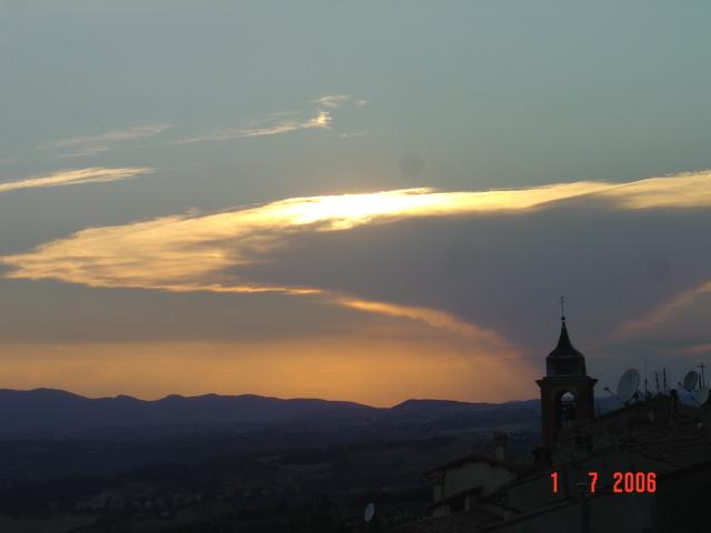 Cesi : tramonto