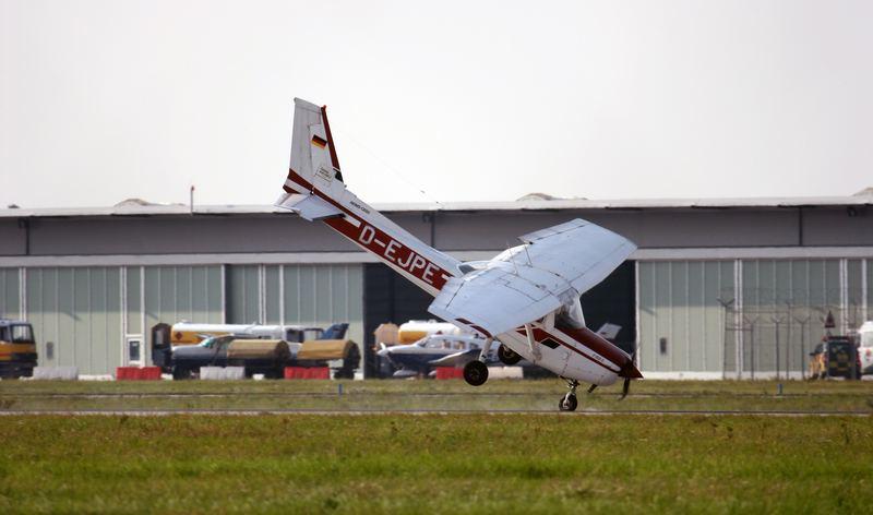 Cessna Bruchlandung