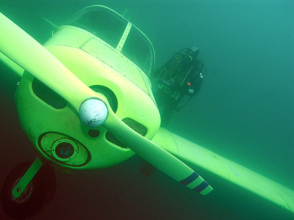Cessna notgewassert