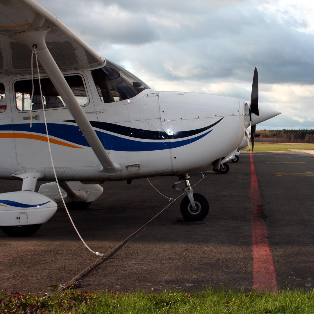 Cessna Parking Area