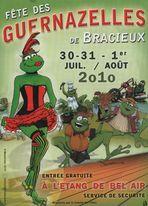 """C'EST LA FETE AUX """" GUERNAZELLES """" ( grenouilles ) A BRACIEUX 41"""