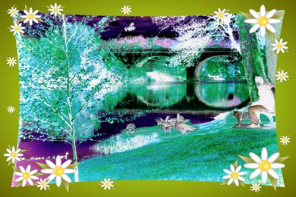 C'est le printemps les mésanges chantent !! C'était une petite fantaisie ...