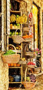 cestos de fruta