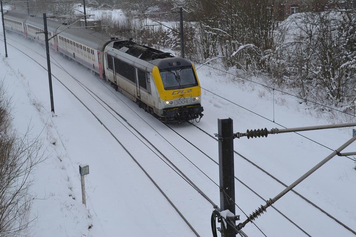 CFL 3004 in Schnee bei Courtil