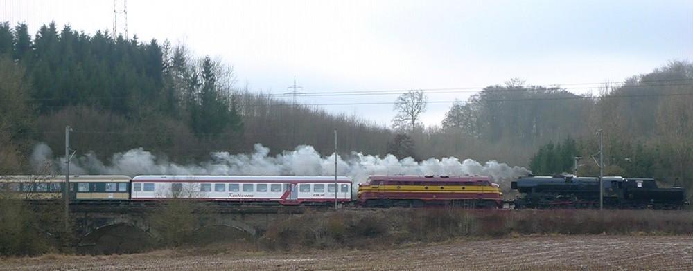 CFL 5519/1604 Sonderfahrt 25.01.09