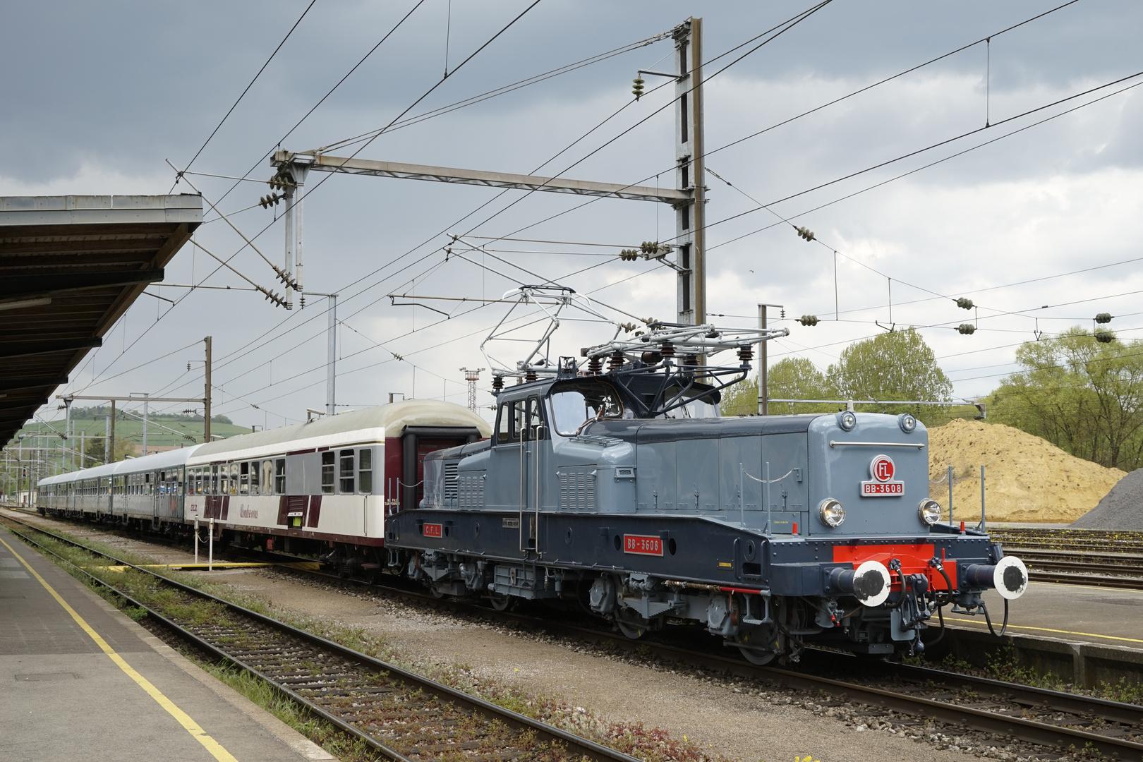 CFL BB 3608 auf Sonderfahrt