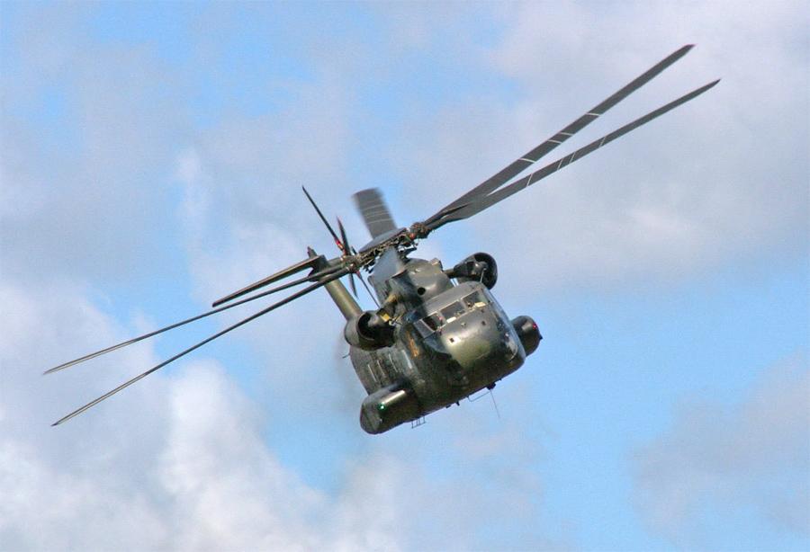 CH-53 im Anflug