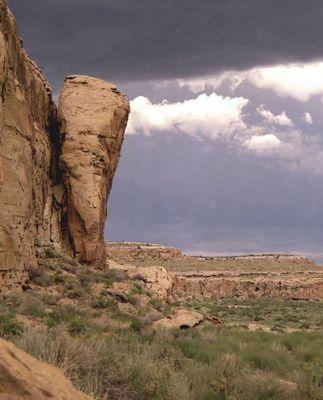 Chaco Canyon , New Mexico