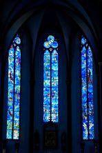 Chagall-Fenster  -  St. Stephan
