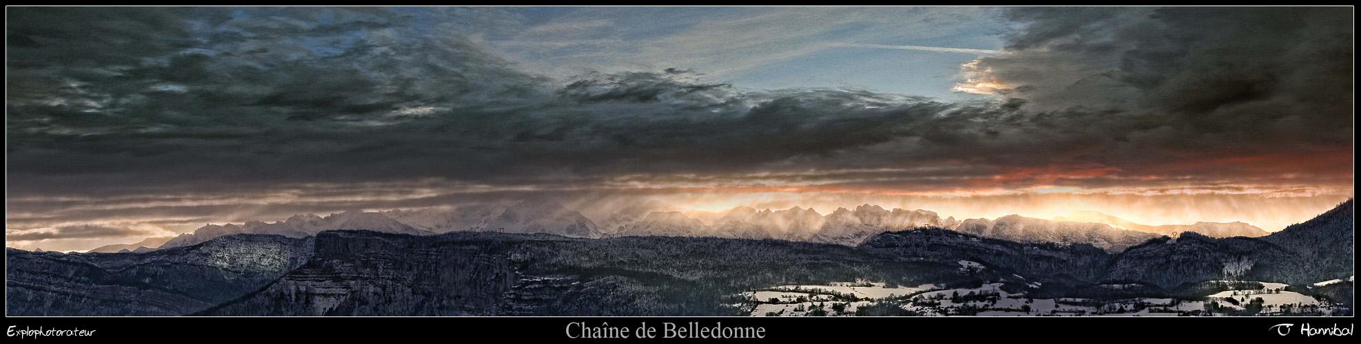 •Chaine de Belledonne•
