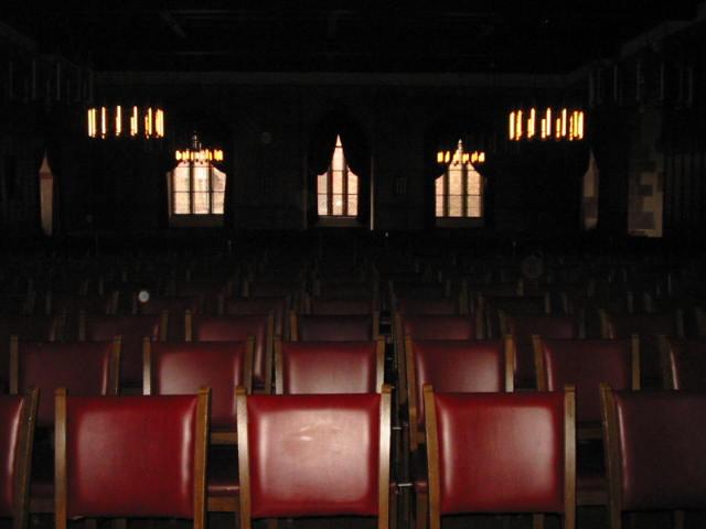 Chairs in Castel zu Heidelberg