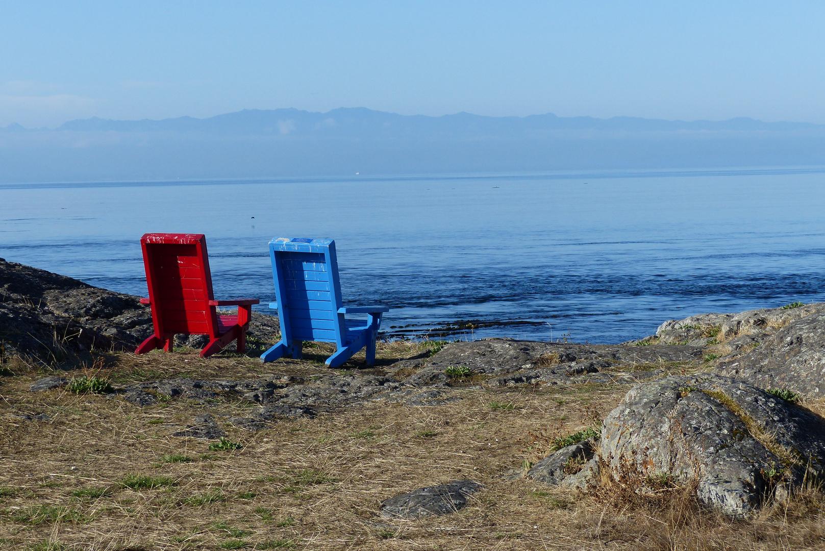 Chairs near Victoria, BC