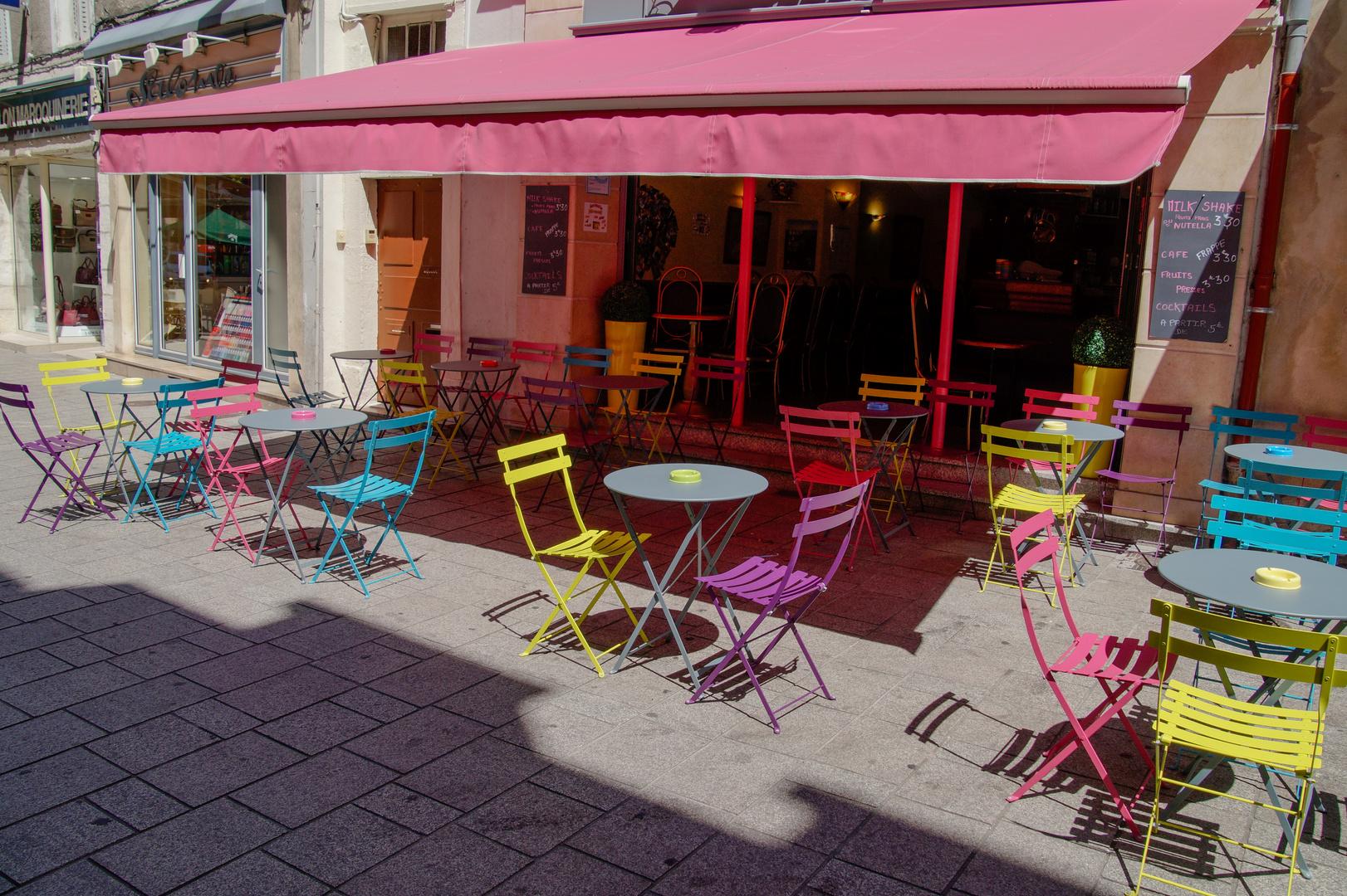 Chalon sur Saone 2013 Französisches Cafè