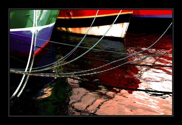 chalutiers au port