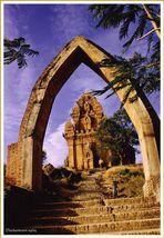 Cham-Turm bei NhaTrang/VietNam