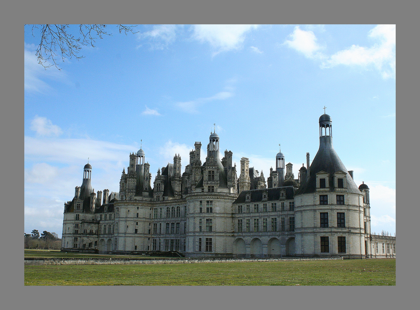 Chambord face nord