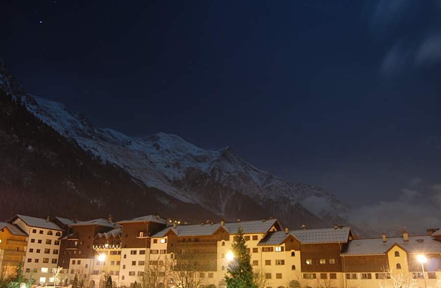 Chamonix et Mt Blanc