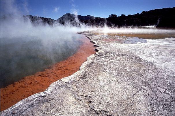 Champagne-Lake, Rotorua, Neuseeland
