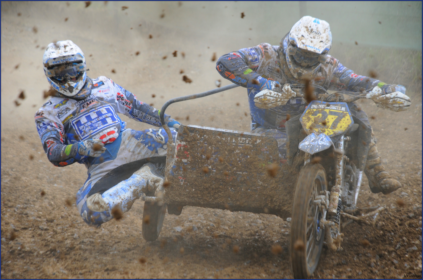 Championnat du monde de side-car cross à Plomion (2010)