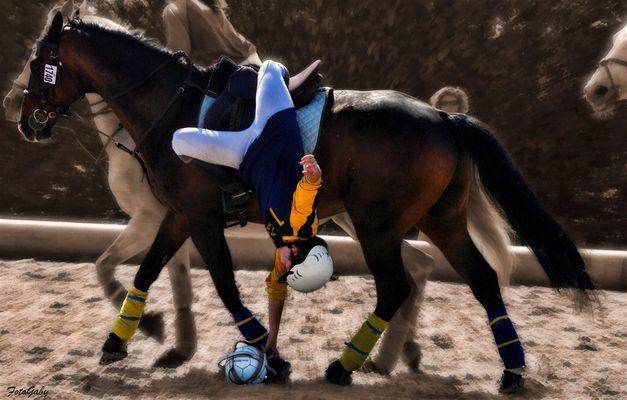 Championnats de France de Horse Ball / Annaëlle