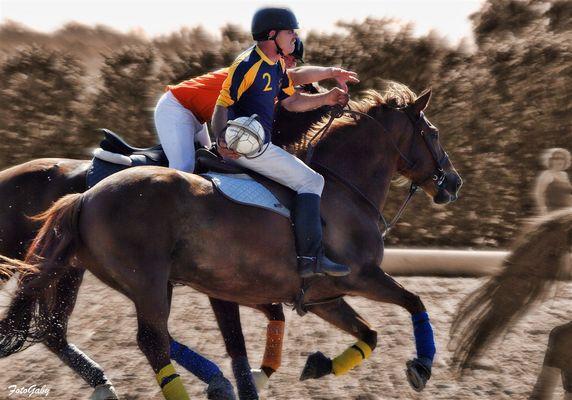 Championnats de France de Horse Ball / Bruno