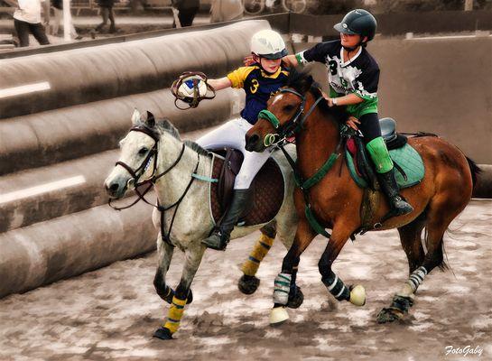 Championnats de France de Horse Ball / Lena