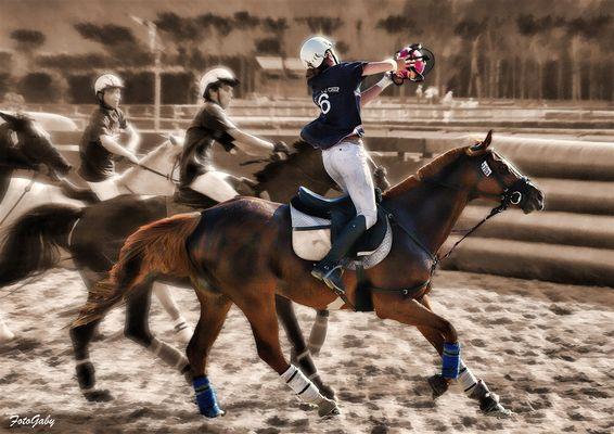 Championnats de France de Horse Ball / Pauline