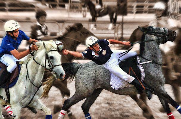 Championnats de France de Horse Ball / Romain