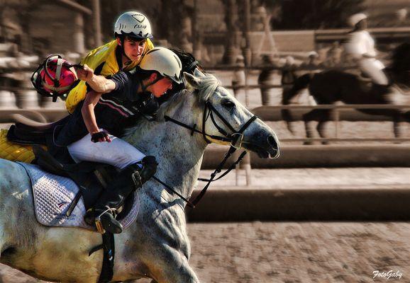 Championnats de France de Horse Ball / Samuel