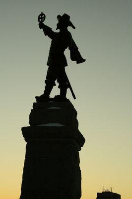 Champlain au crépuscule