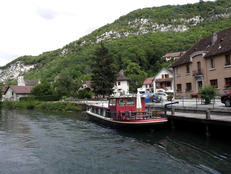 CHANAZ - Canal de Savière - Savoie 73