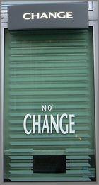 Change? No Change!