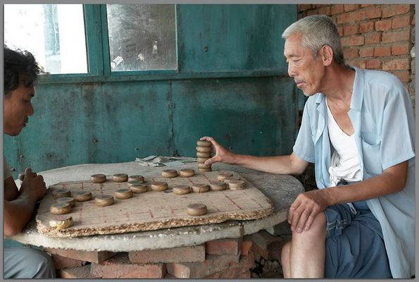 Changyi , chinesisches Schach  - nahe von Shenyang, China