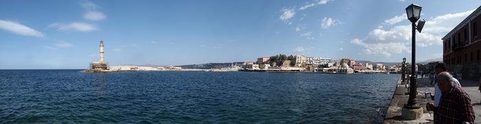 Chania (Kreta) - Ein Blick auf den Hafen