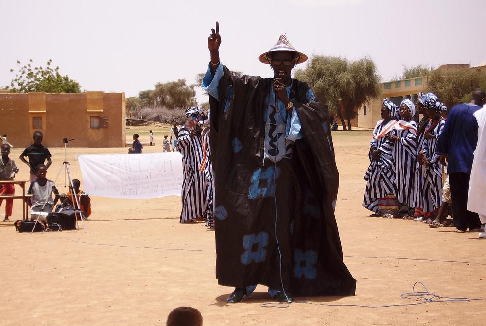 chanteur mauritanien Cheikh Sy